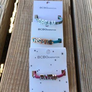 🎁 BNWT BCBGeneration Faith Inspire & Dream Set!